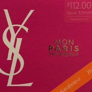 Yves Saint Laurent Other - YSL MON PARIS Gift Set